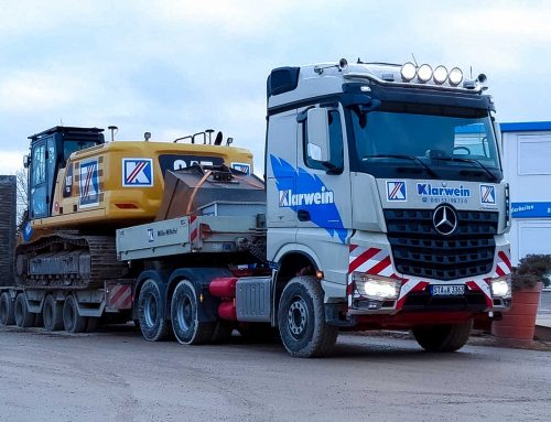 LKW-Fahrer (m/w/d) für Schüttgut und Schwerlasttransporte